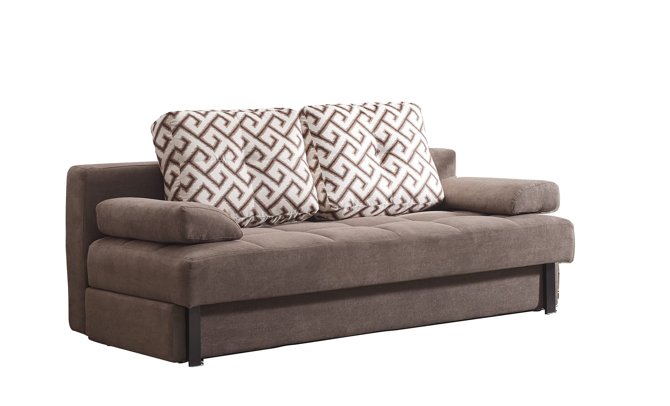 98 Sofa Bed Brown By Esf