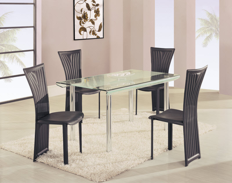 Dining Table A818LDT White