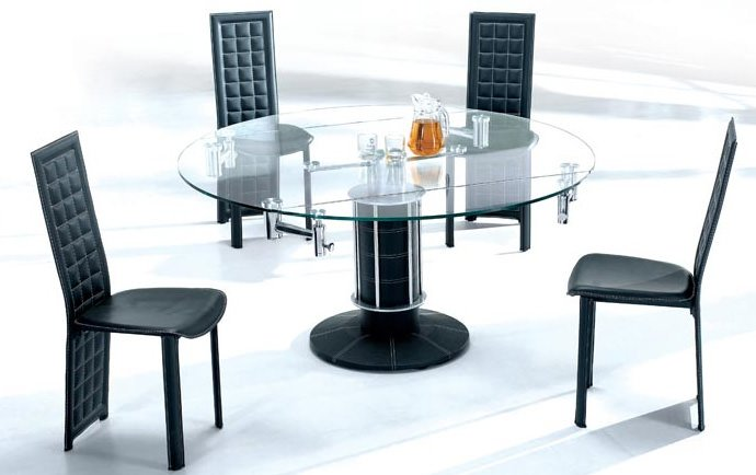 Black Dining Set 355 Series By American Eagle Furniture