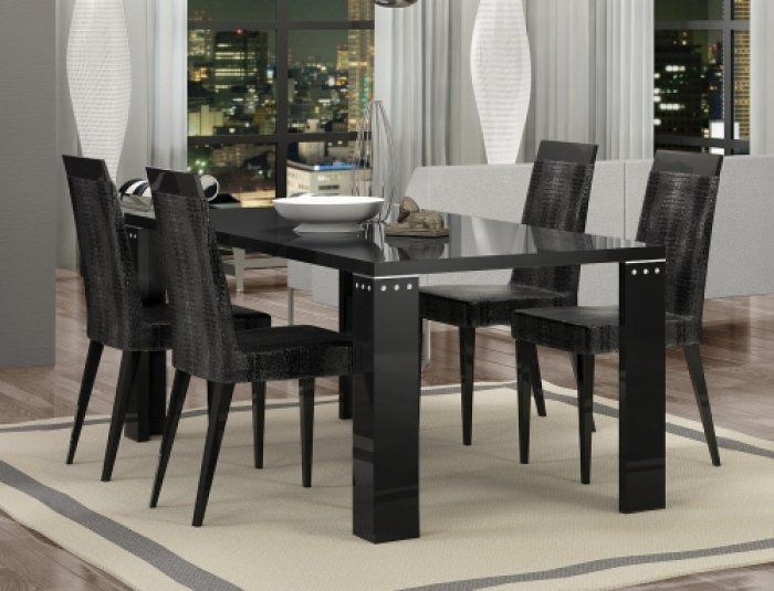 At Home Dining Chairs.Armonia Diamond Black Luxury Dining Chair By At Home Usa