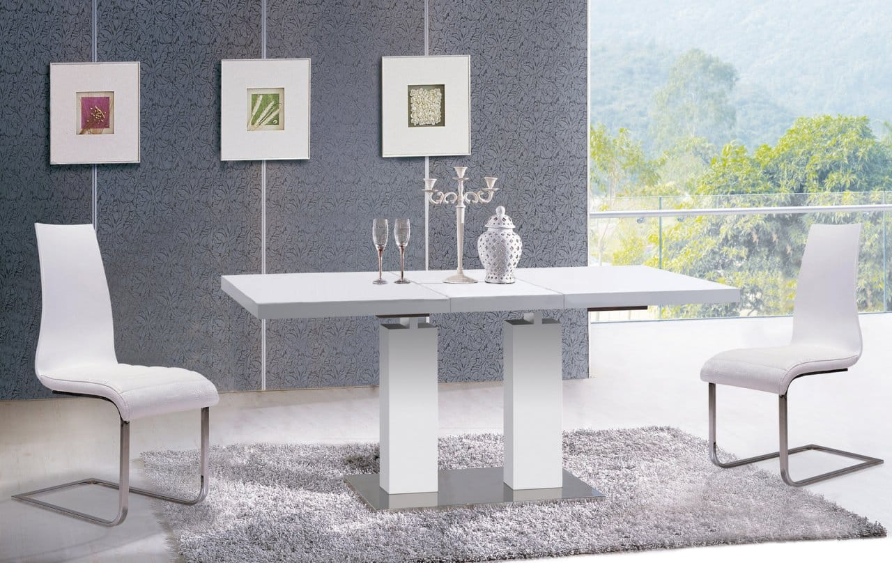 Dining Table With Extension Va9830 By At Home Usa