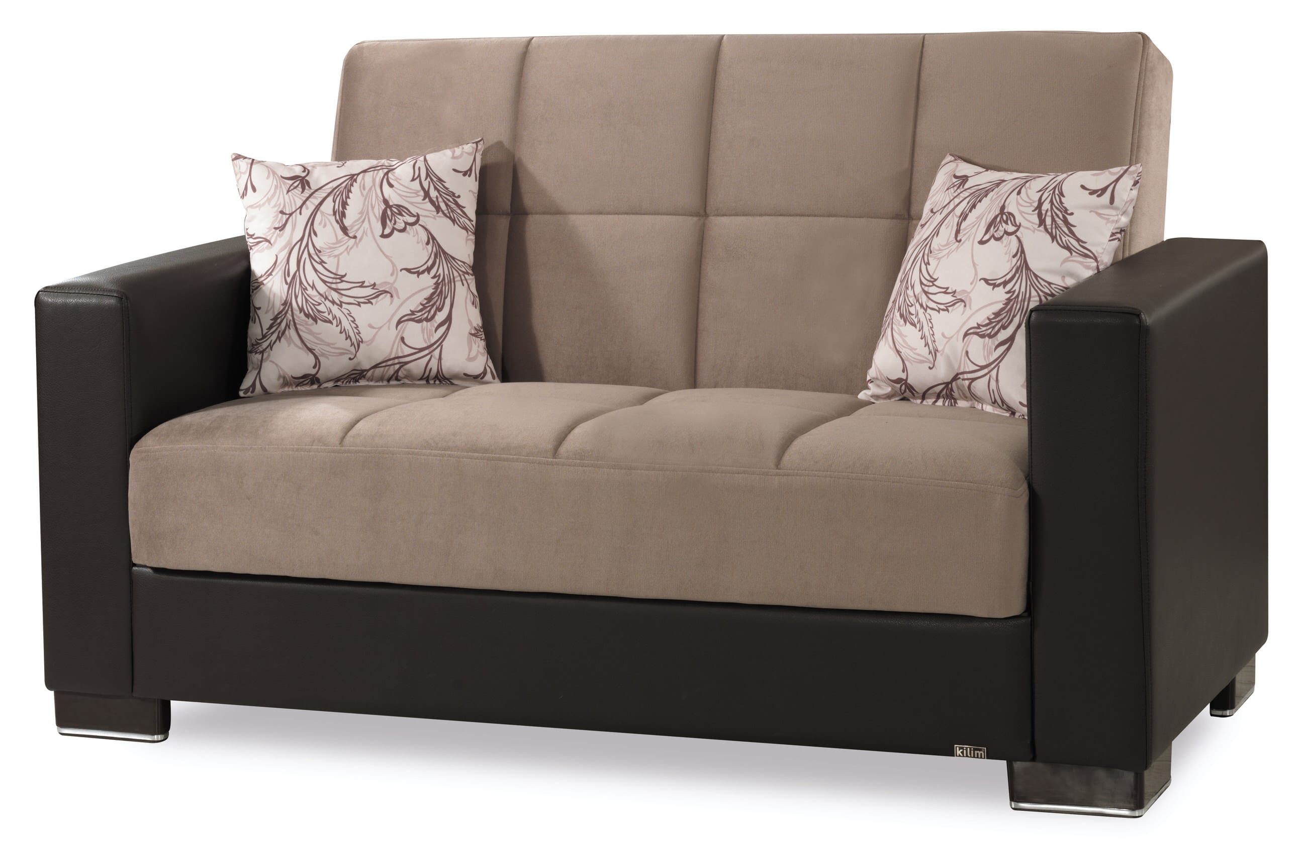 Armada Sand Convertible Loveseat by Casamode