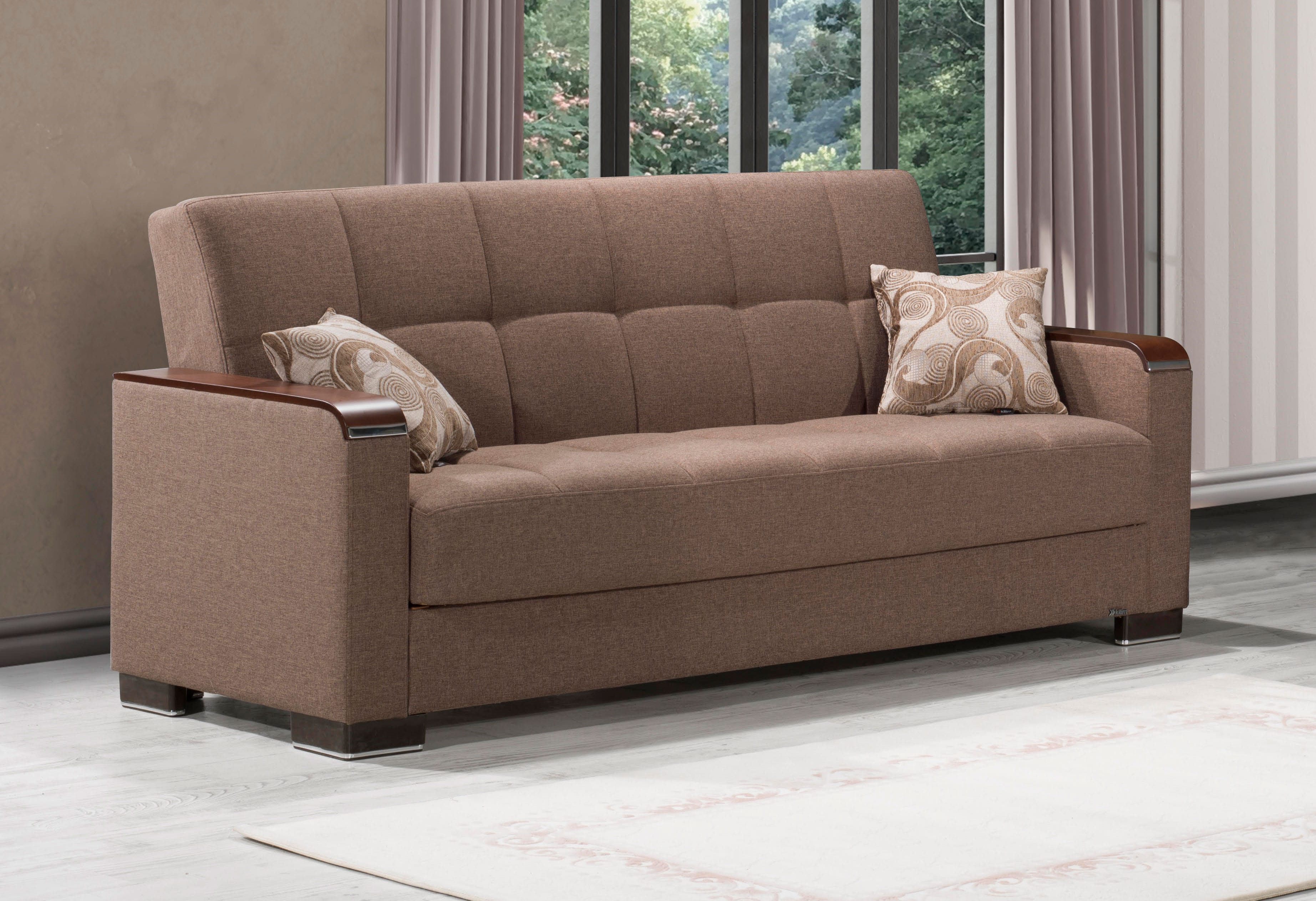 Armada X Light Brown Sofa Bed By Casamode