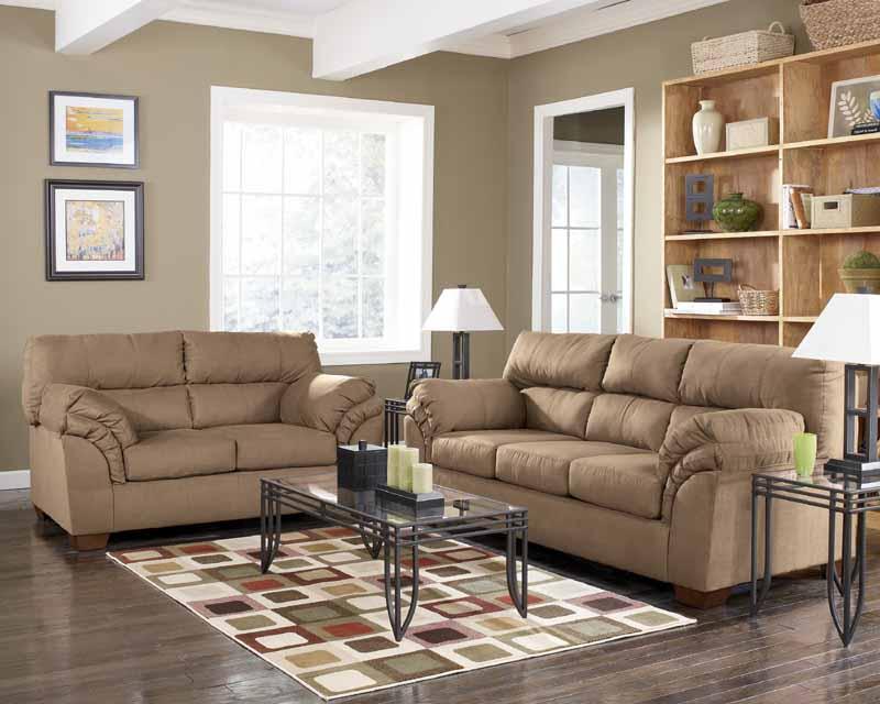 Jupiter Mocha Sofa Set Signature Design By Ashley Furniture