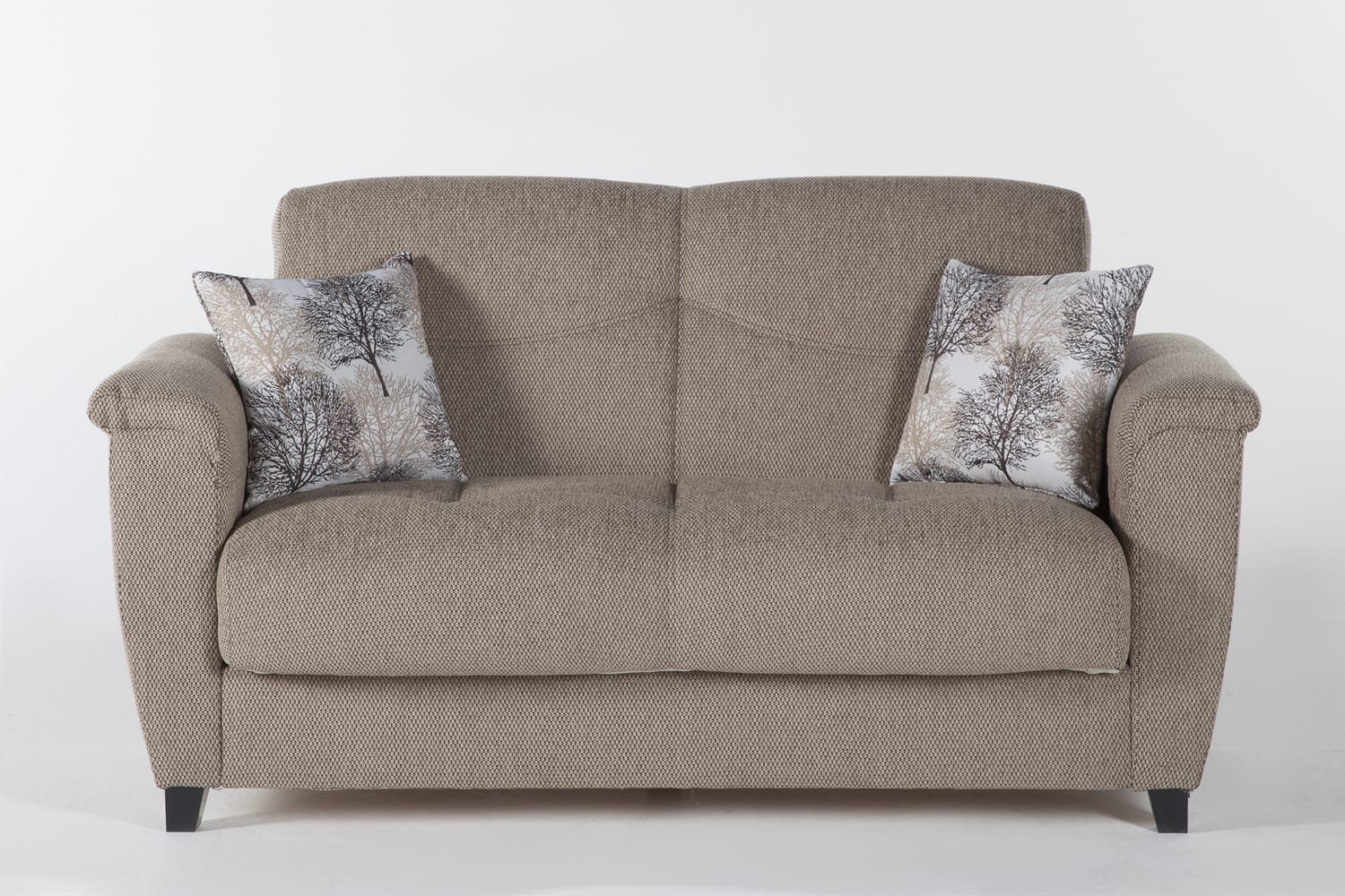 Aspen Forest Brown Loveseat By Bellona