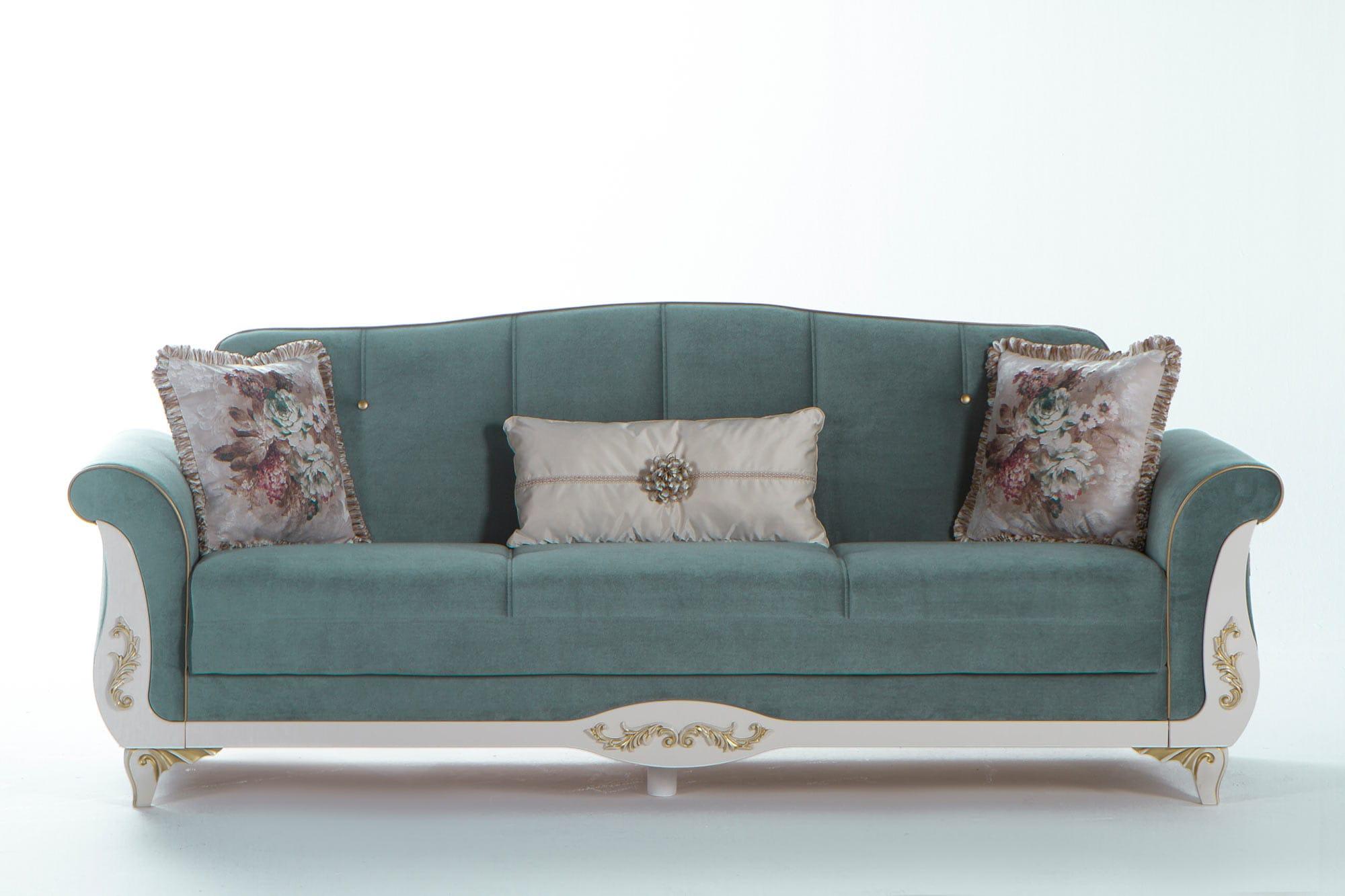 Phenomenal Astoria Caprice Seafoam Green Convertible Sofa Bed By Istikbal Furniture Cjindustries Chair Design For Home Cjindustriesco