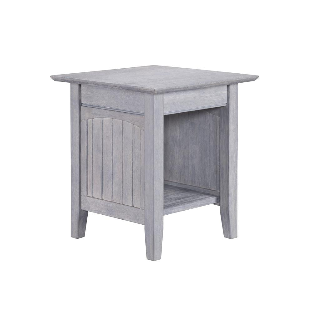 Nantucket Coffee Table.Nantucket End Table Driftwood Gray By Atlantic Furniture