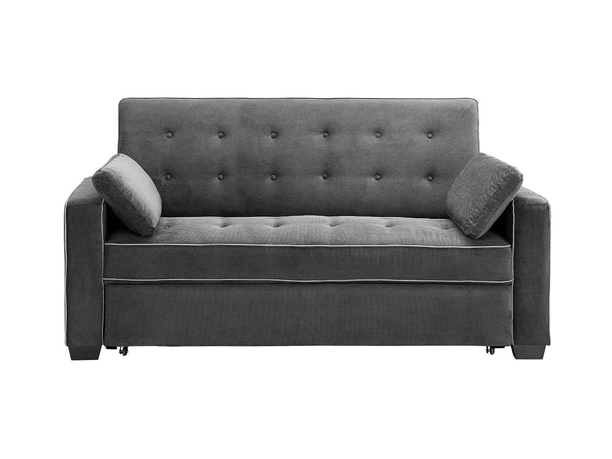 Augustine Convertible Sofa Bed Moon Grey by Serta Lifestyle