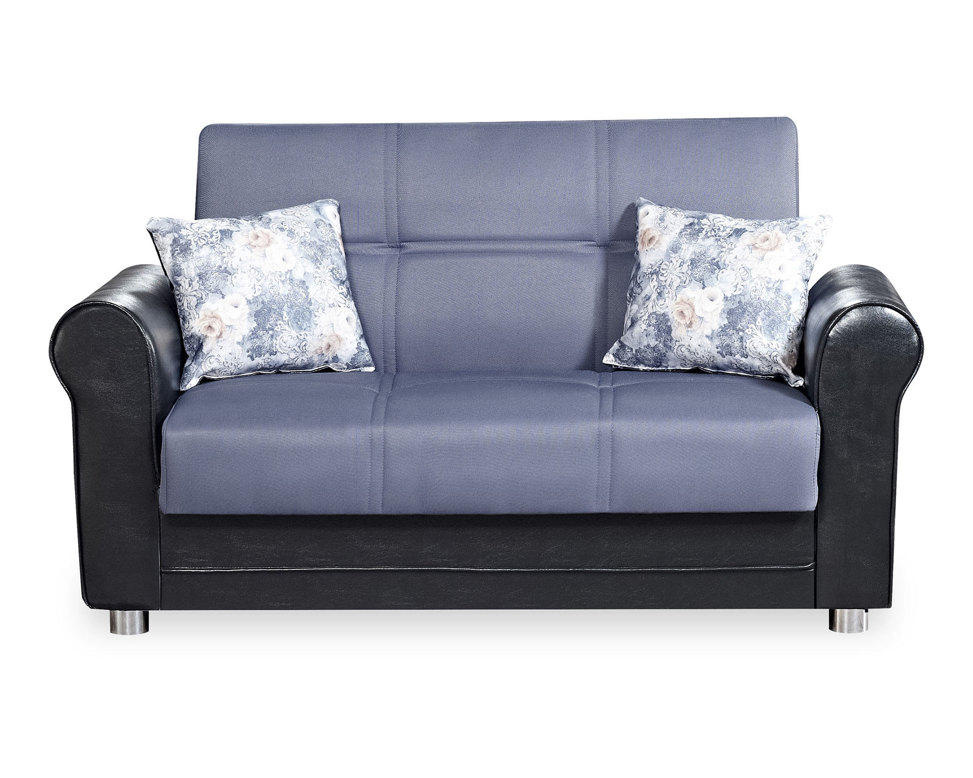 Fine Avalon Plus Gray Convertible Loveseat By Casamode Cjindustries Chair Design For Home Cjindustriesco