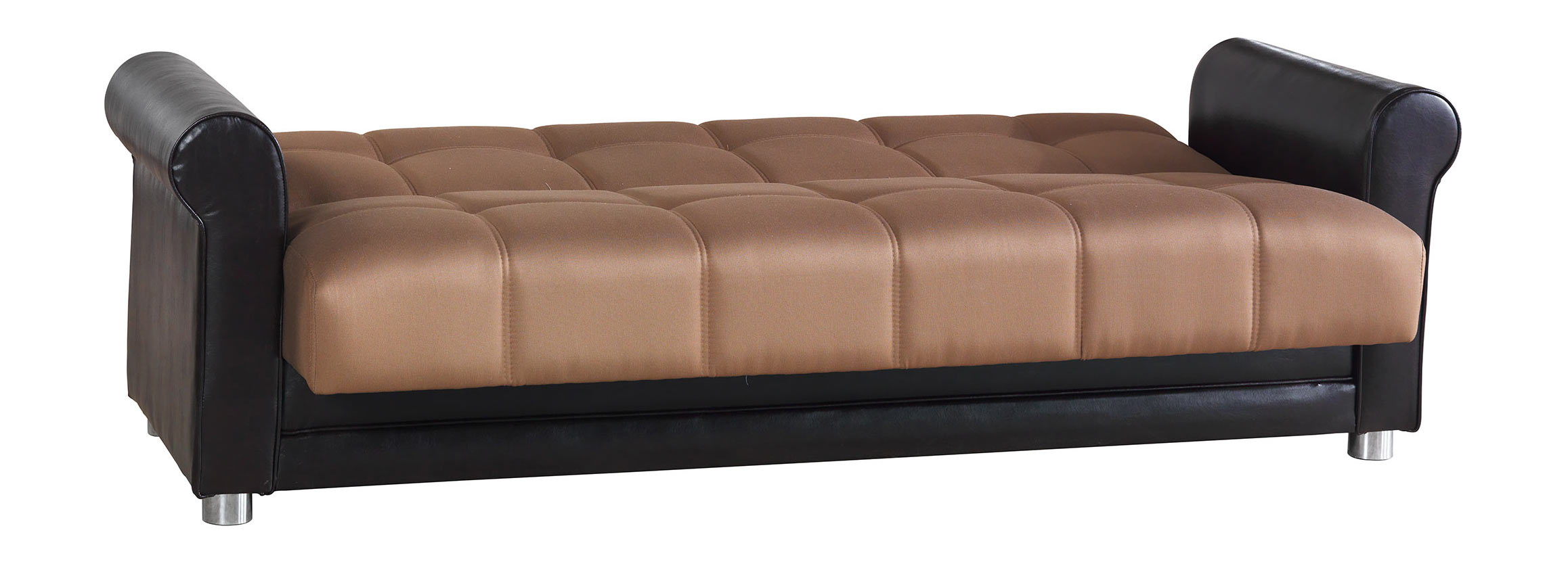 Avalon Prusa Brown Sofa by Casamode