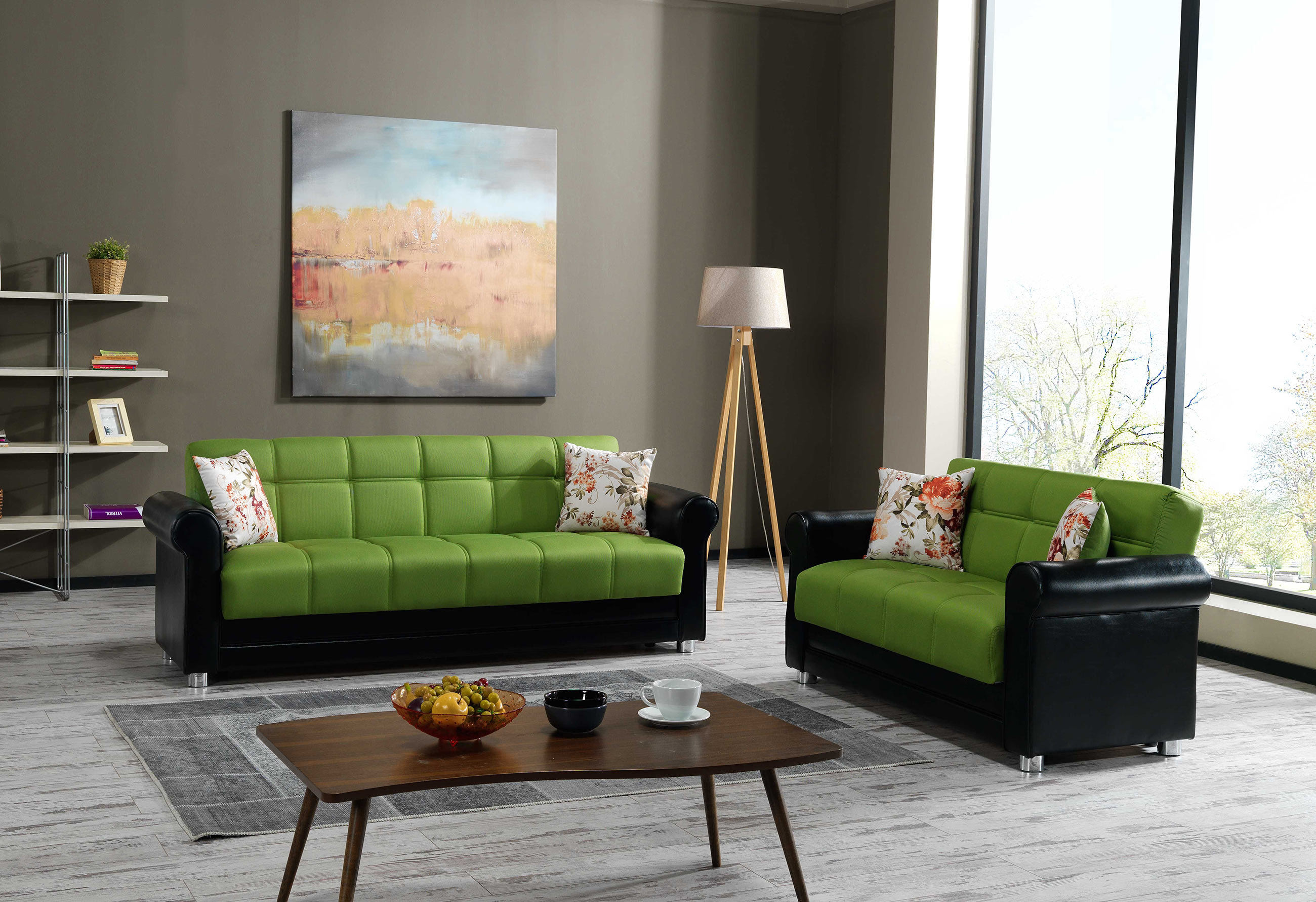 avalon prusa green sofa by casamode