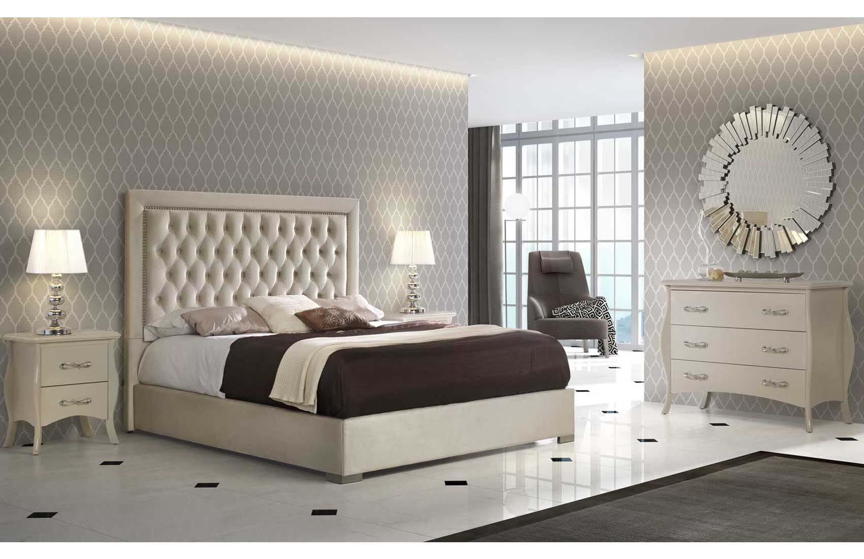 Adagio Ivory Bedroom Set by ESF