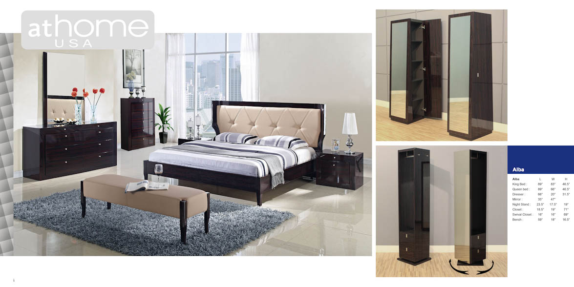 Alba Bedroom Set by At Home USA