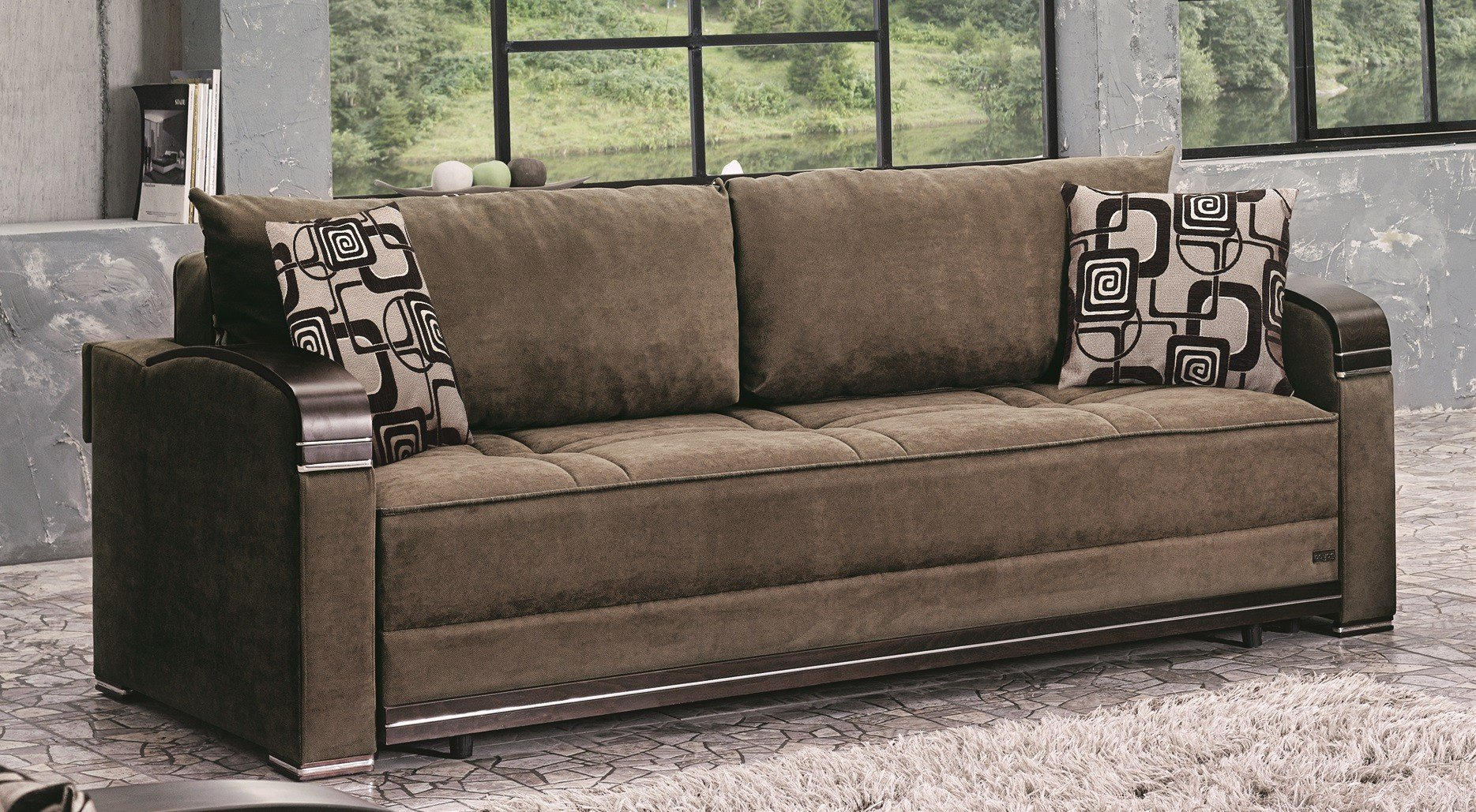 Albany Sofa Bed By Empire Furniture Usa