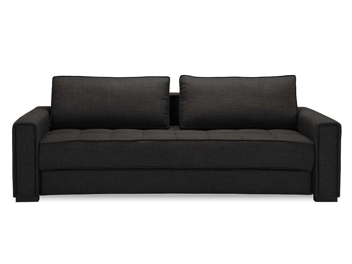 Ascott Convertible Sofa Dark Grey By Serta Lifestyle