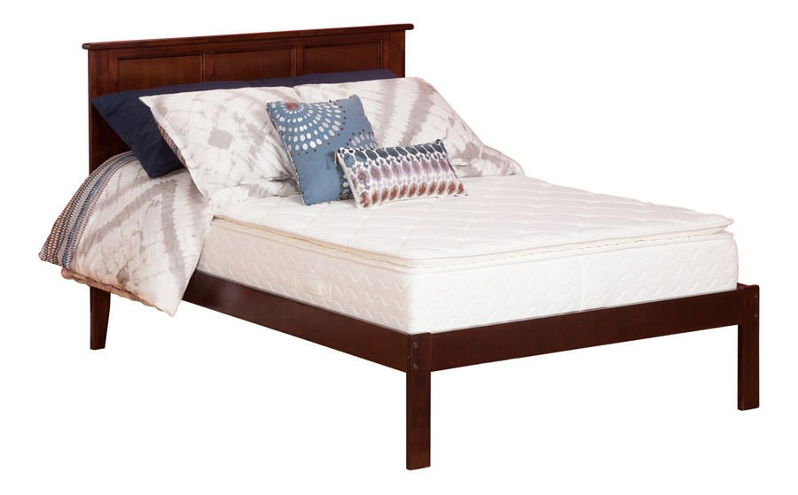 dreamweaver 11 inch pillow top mattress by atlantic furniture  rh   futonland