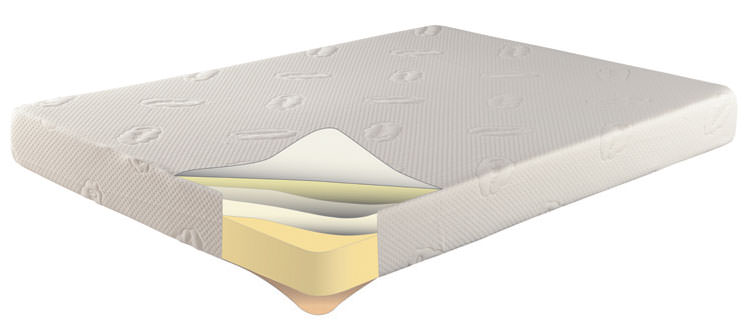 Floor Sample Easy Rest 6 Inch Memory Foam Mattress Twin By