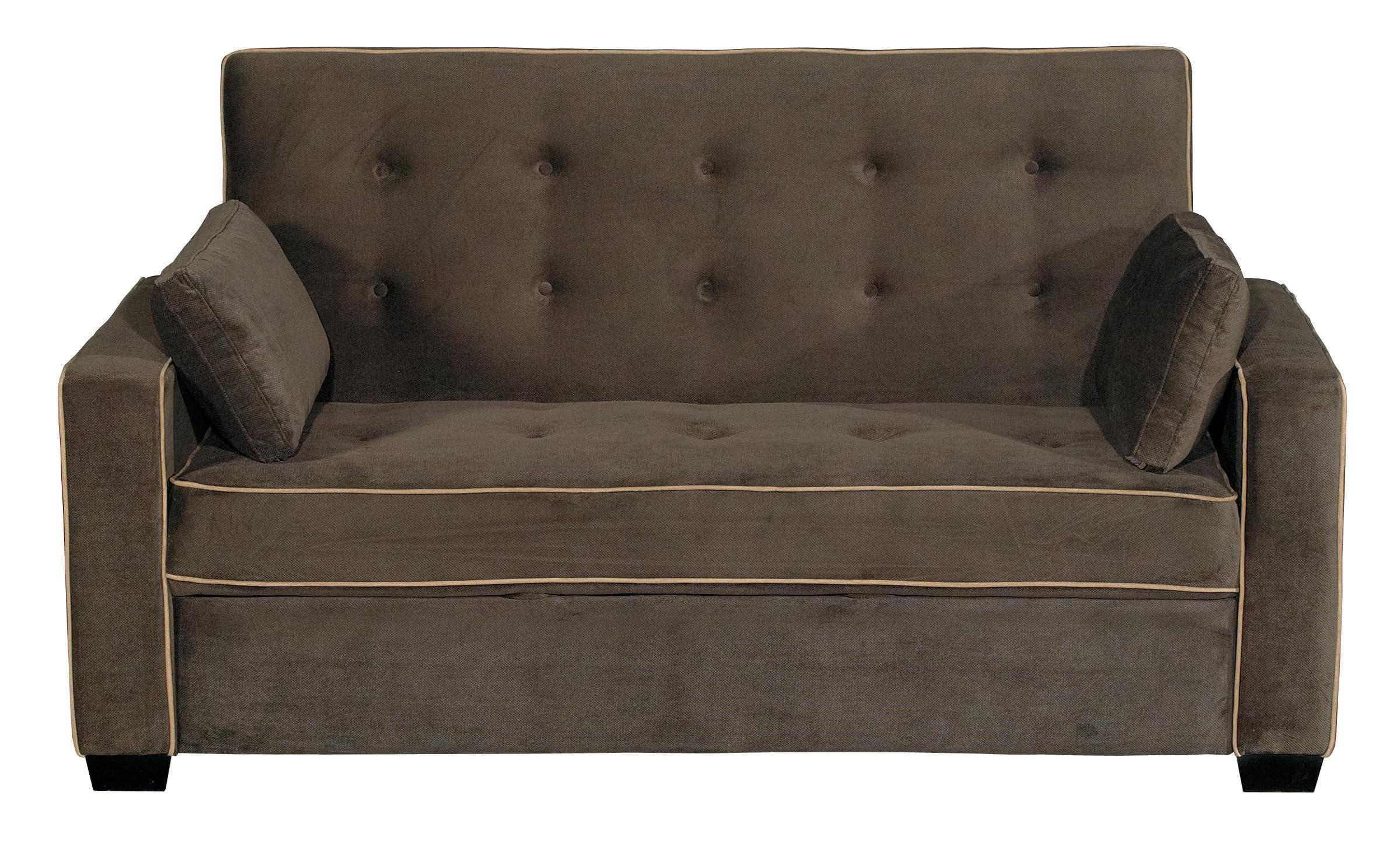 Pleasing Augustine Loveseat Full Size Sleeper Java By Serta Lifestyle Ibusinesslaw Wood Chair Design Ideas Ibusinesslaworg