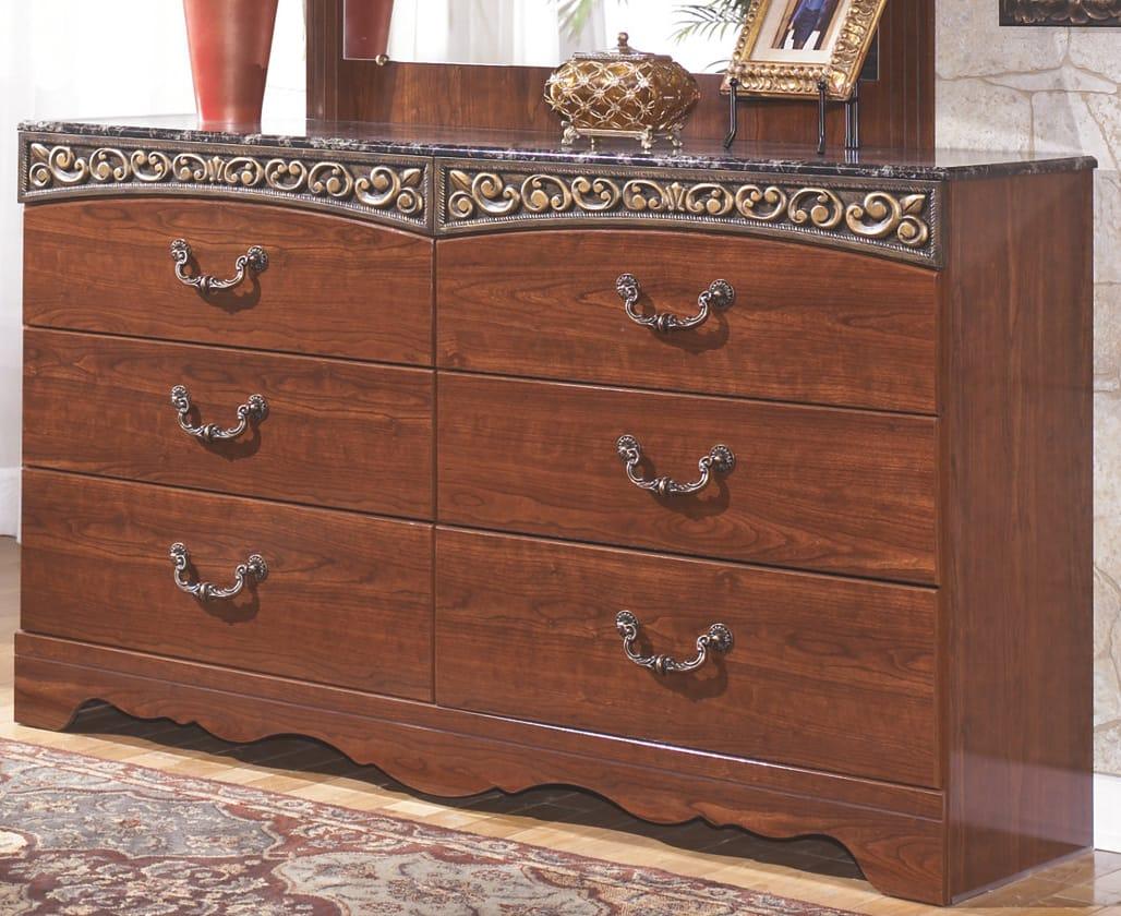 Fairbrooks Estate Brown Dresser By Ashley Furniture