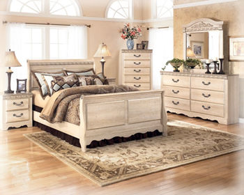 Silverglade B174 Queen Bedroom Set Signature Design by Ashley ...