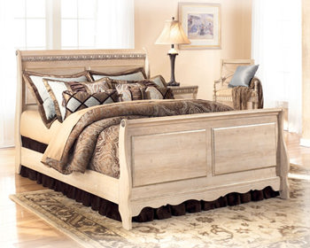 silverglade b174 queen bedroom set signature design by ashley furniture. Black Bedroom Furniture Sets. Home Design Ideas
