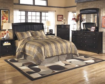 B208 Harmony Dark Brown Bedroom Set Signature Design By Ashley Furniture
