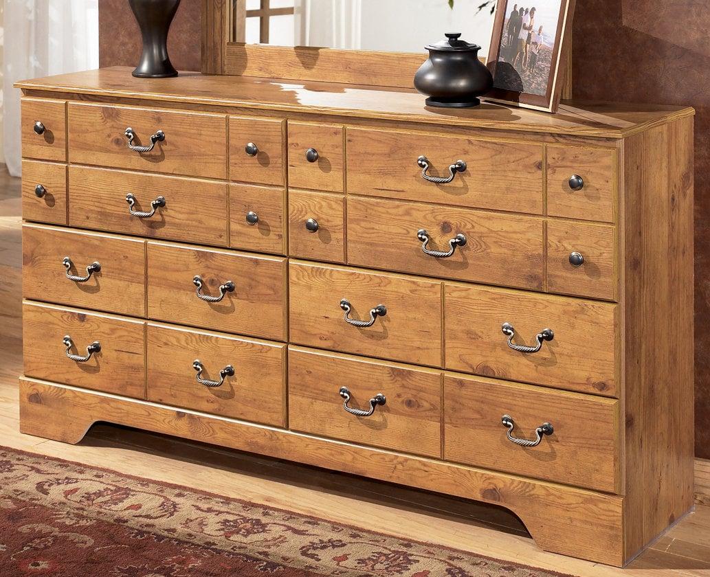 bittersweet light brown dresser by ashley furniture -