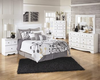 B270 Weeki White Bedroom Set Signature Design by Ashley Furniture