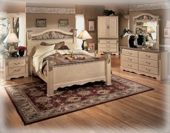 Sanibel B290 Queen Bedroom Set Signature Design By Ashley