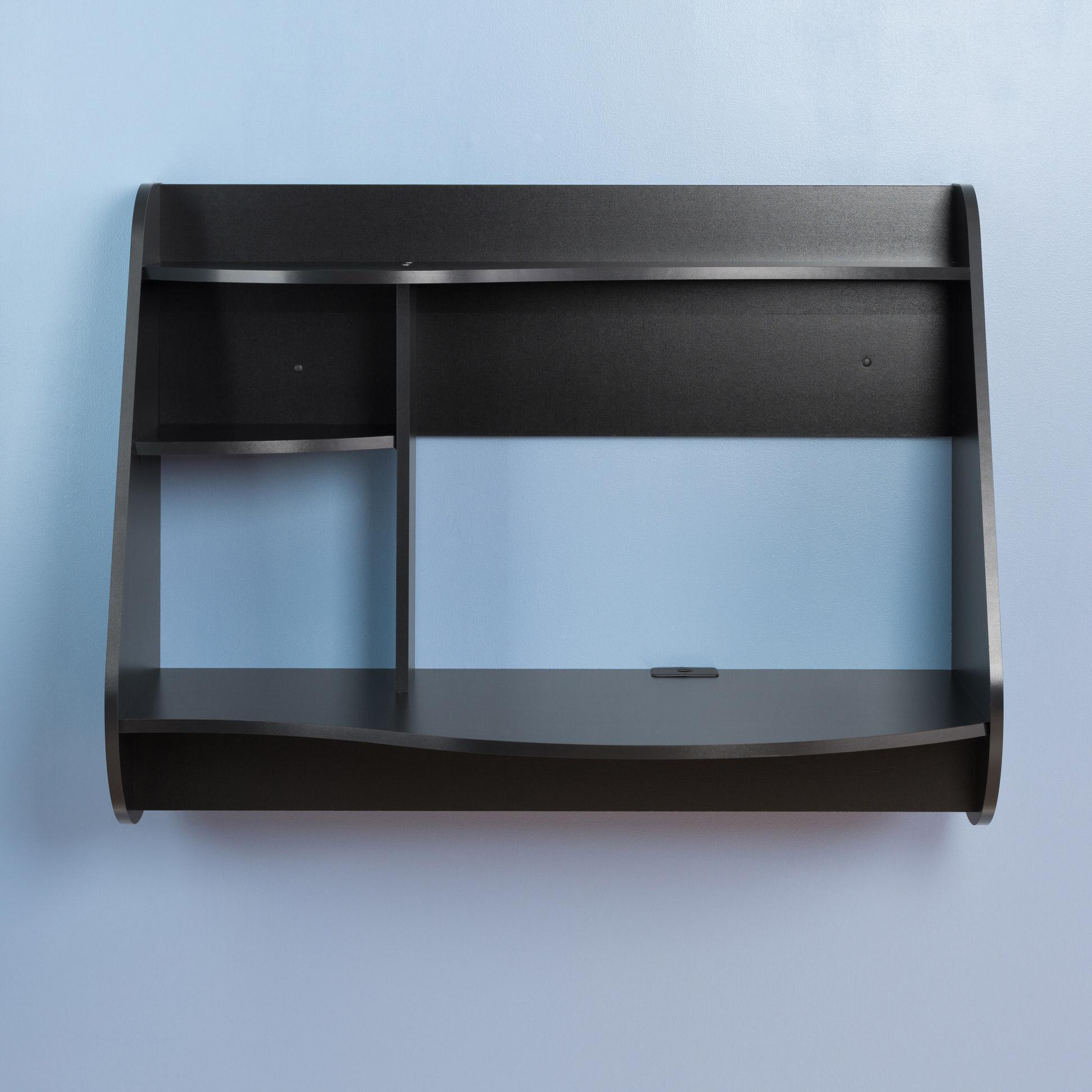 Kurv Floating Desk In By Prepac