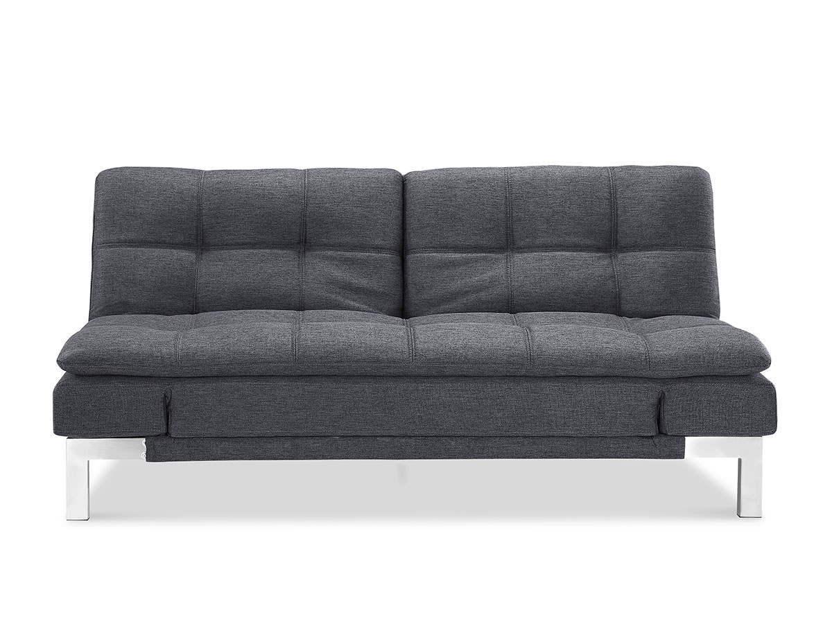 Boca convertible sofa bed charcoal by lifestyle for Sofa bed name