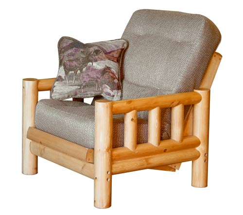 Tahoe Rustic Finish Futon Frame By Simmons Futons