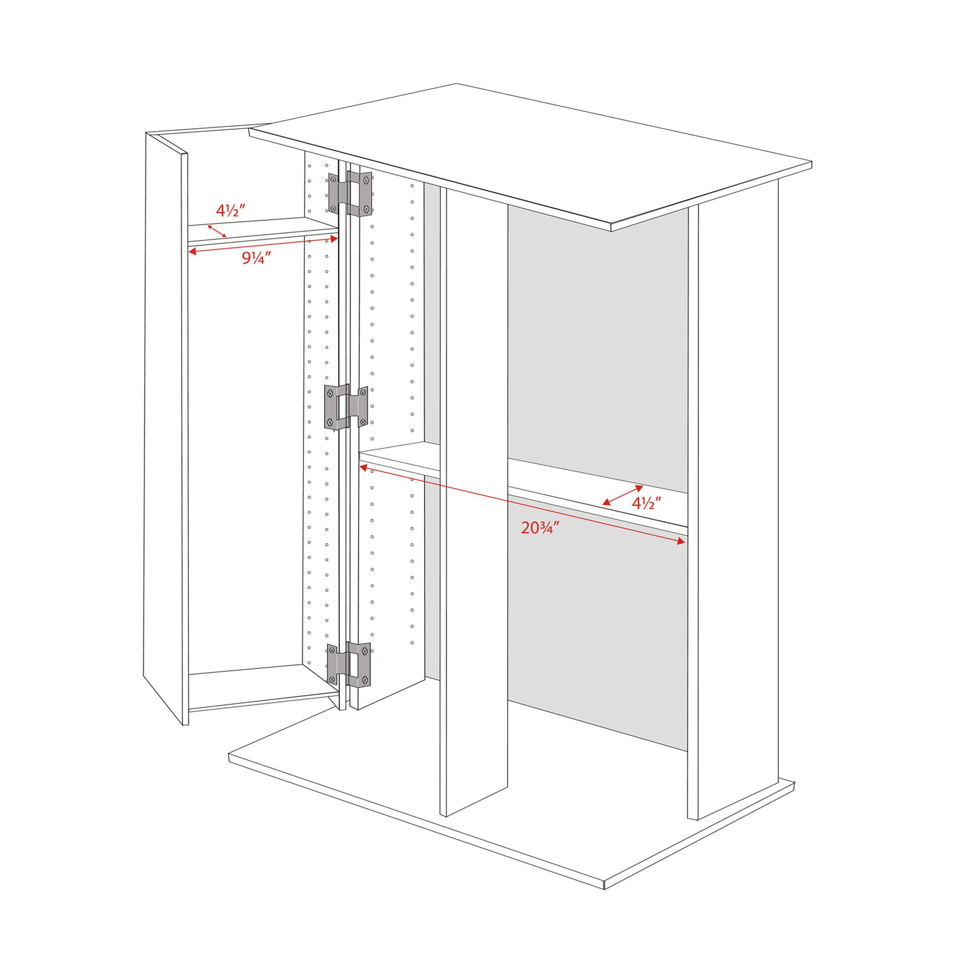Astounding Tall Locking Media Storage Cabinet By Prepac Download Free Architecture Designs Scobabritishbridgeorg