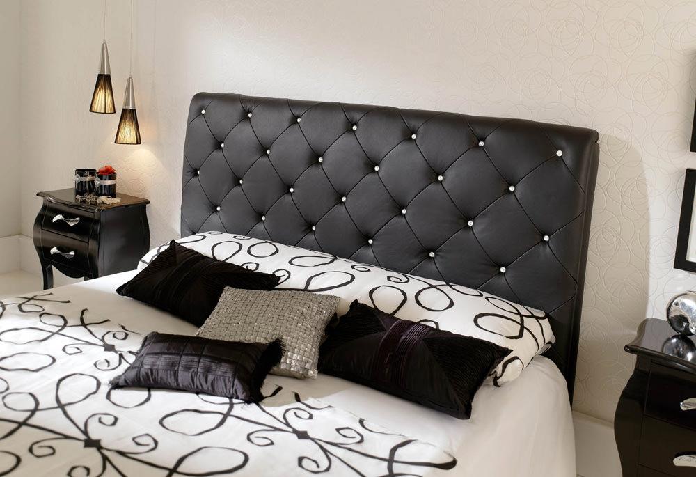 621 Nelly Black Dupen Bedroom Set by ESF