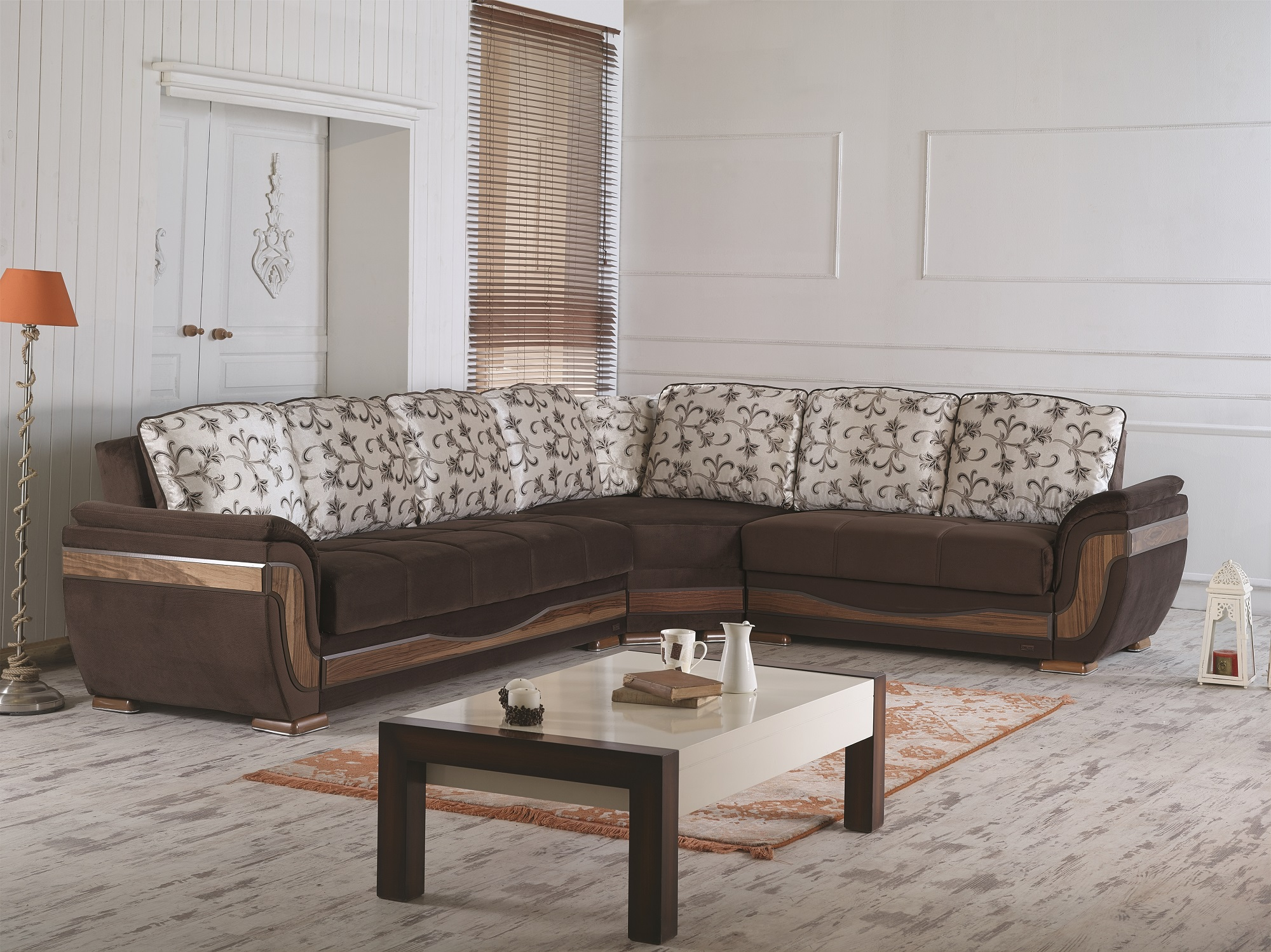 Isingtec Kok Usa 5081b Leather Sectional Sofa Sectional Sofa
