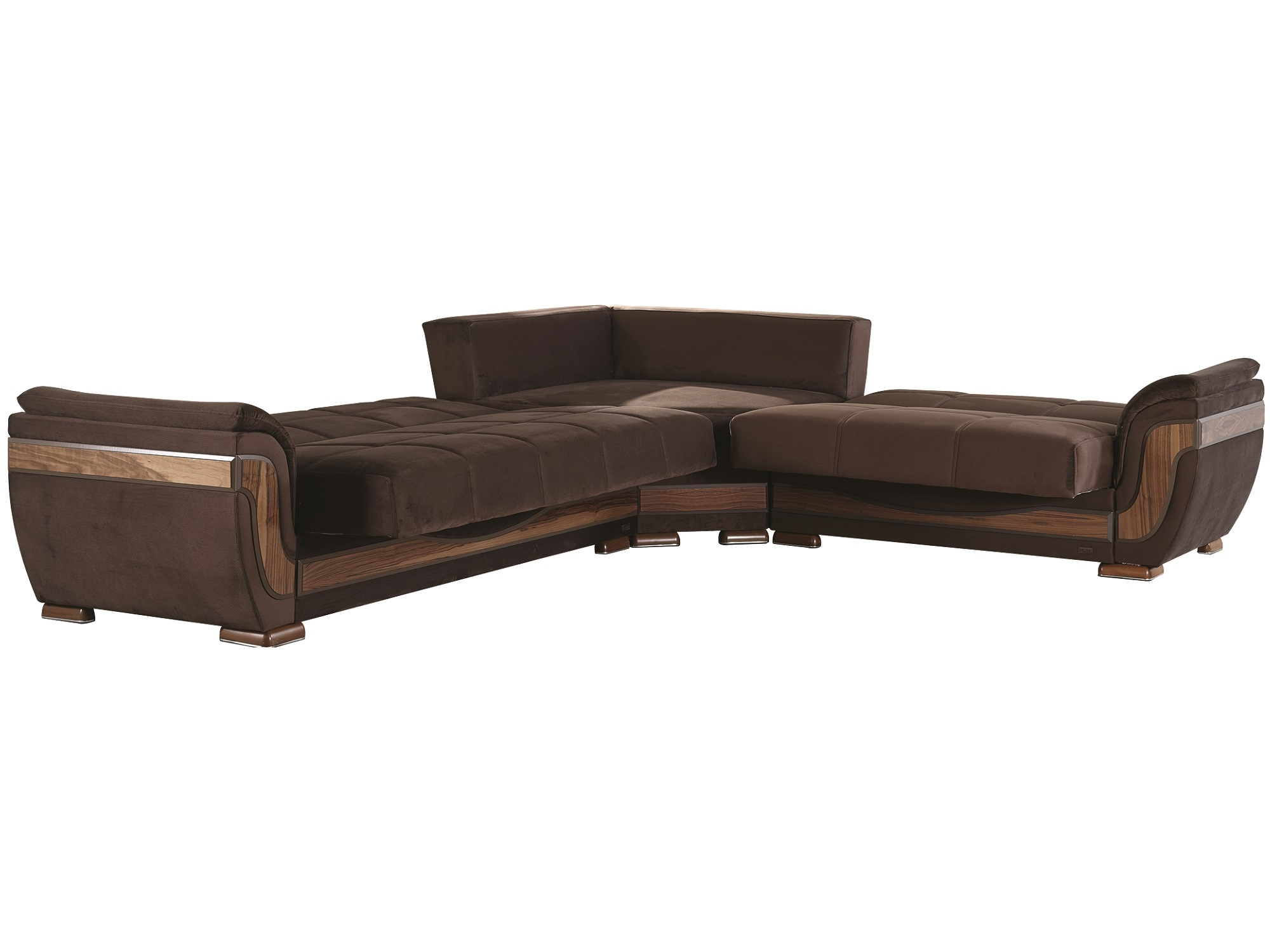 Belmont sectional sofa by empire furniture usa for Furniture usa