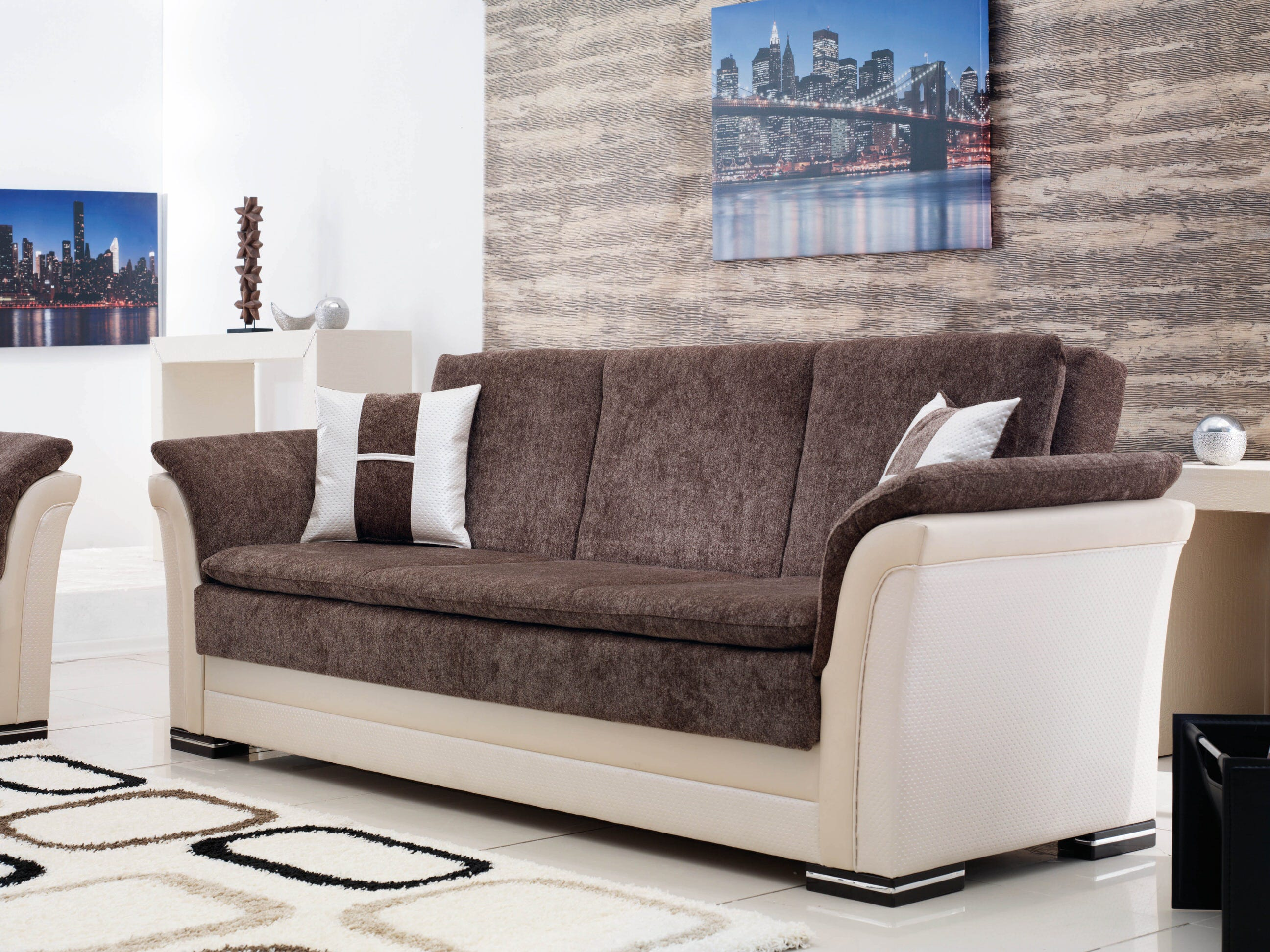 Beyan Sofa Bed by Empire Furniture USA