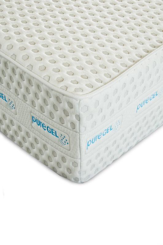 Blue Mist 12 Inch Puregel Memory Foam Mattress By Enso