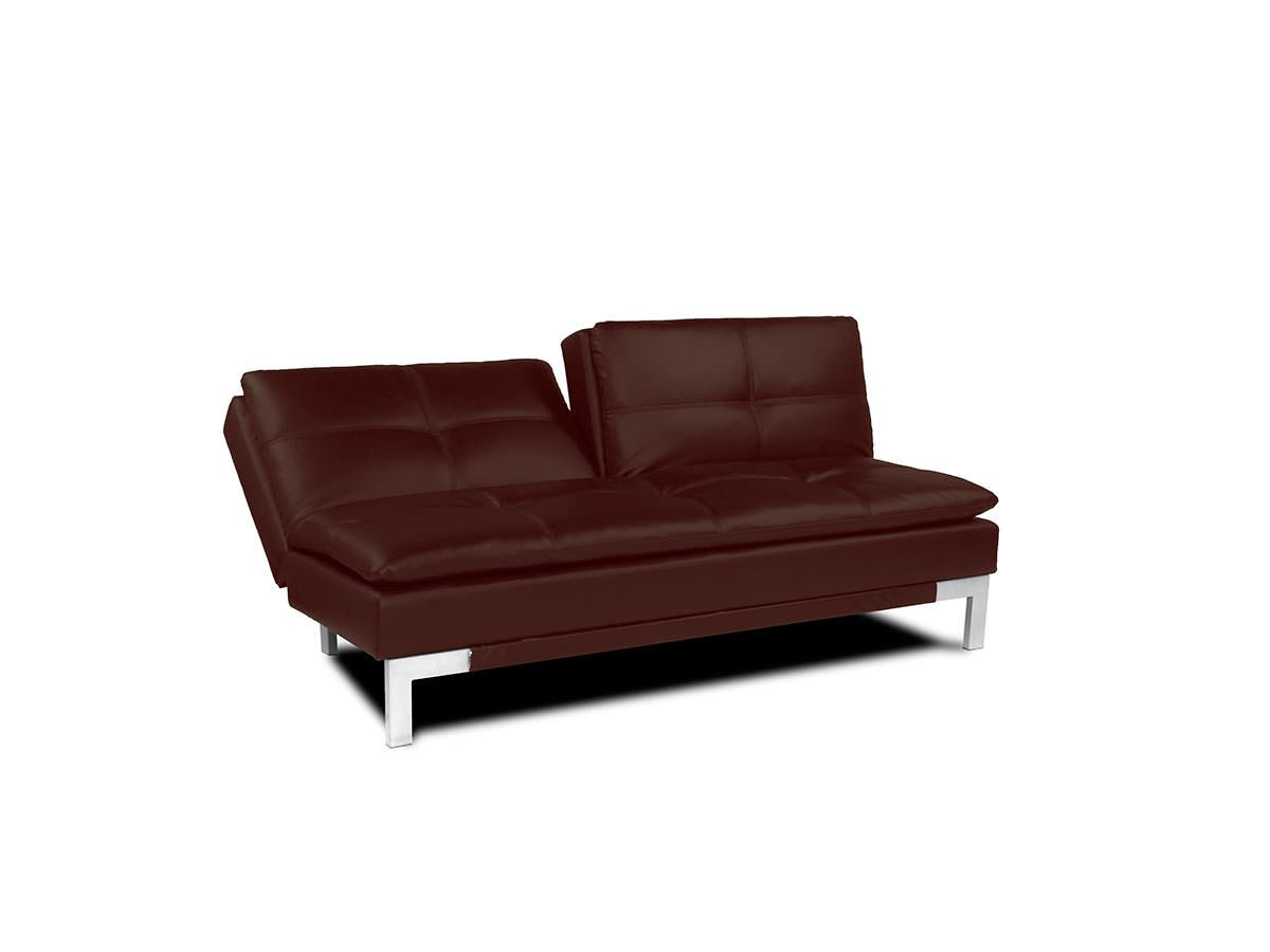 Brenem convertible sofa medium brown by serta lifestyle for Divan convertible