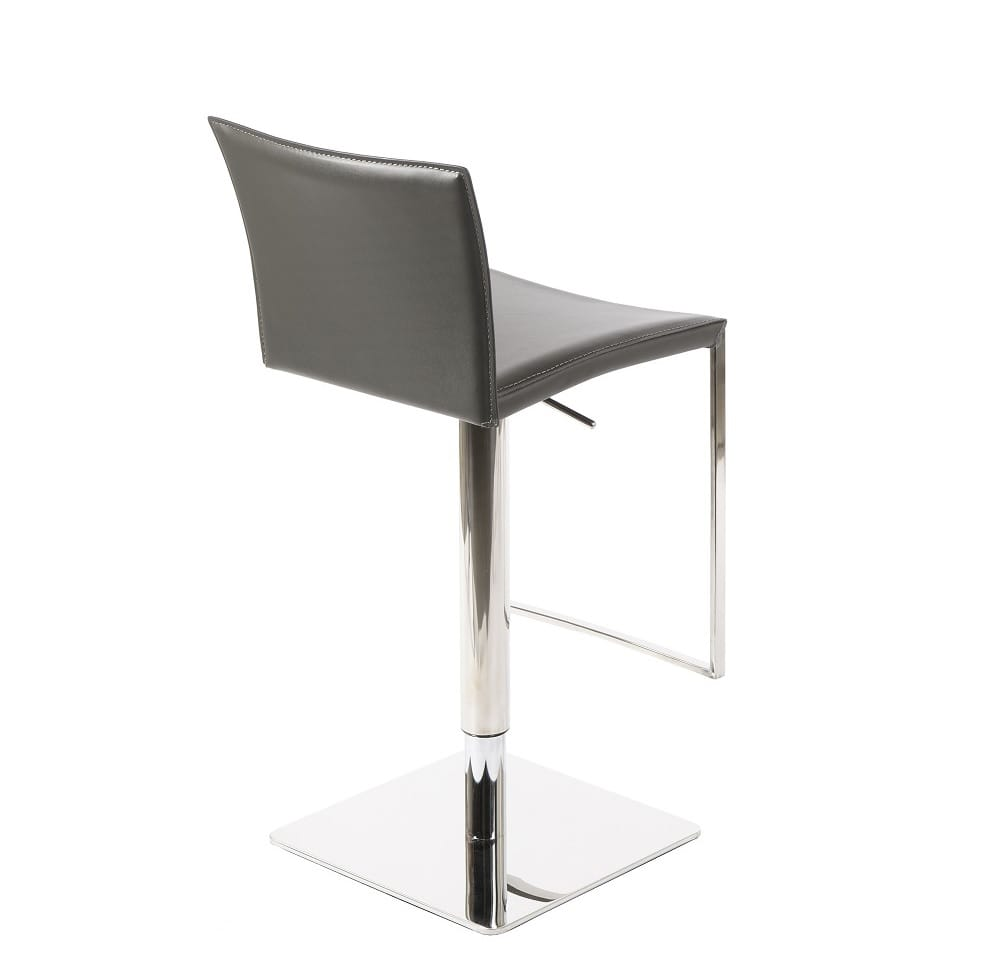 C183b 3 Leather Barstool By J Amp M Furniture