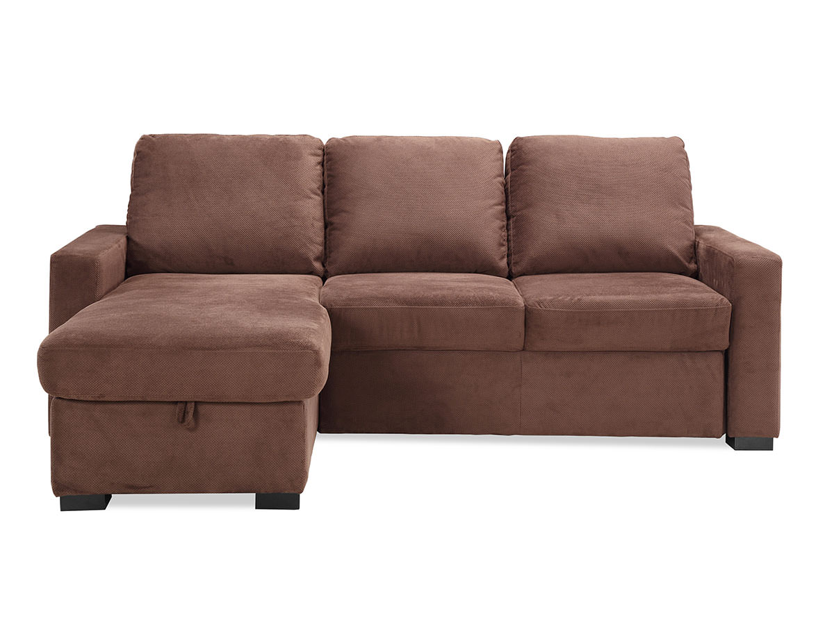 Chester convertible sofa java by serta lifestyle for Divan convertible