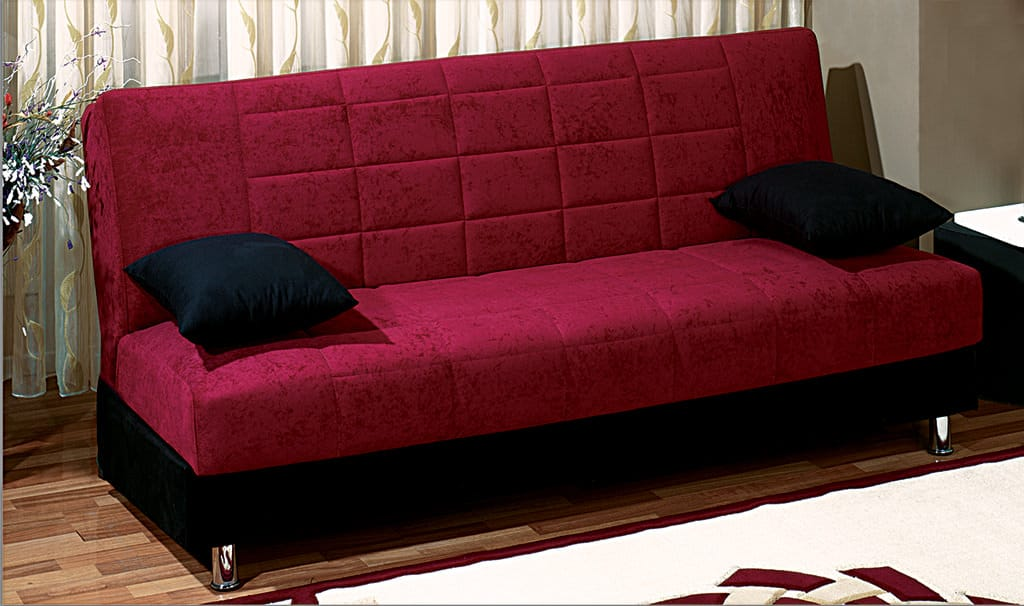 Chicago sofa bed by empire furniture usa for Divan furniture usa