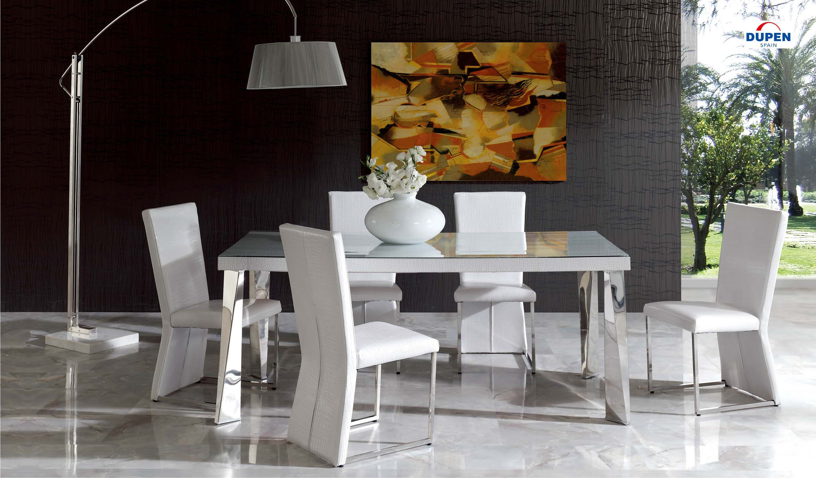 Peachy Coco 127 White Chair Set Of 2 By Esf Caraccident5 Cool Chair Designs And Ideas Caraccident5Info