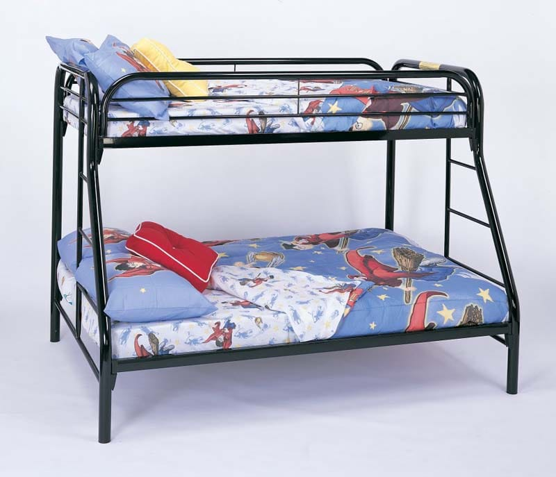 Twin Over Full Metal Bunk Bed By Coaster