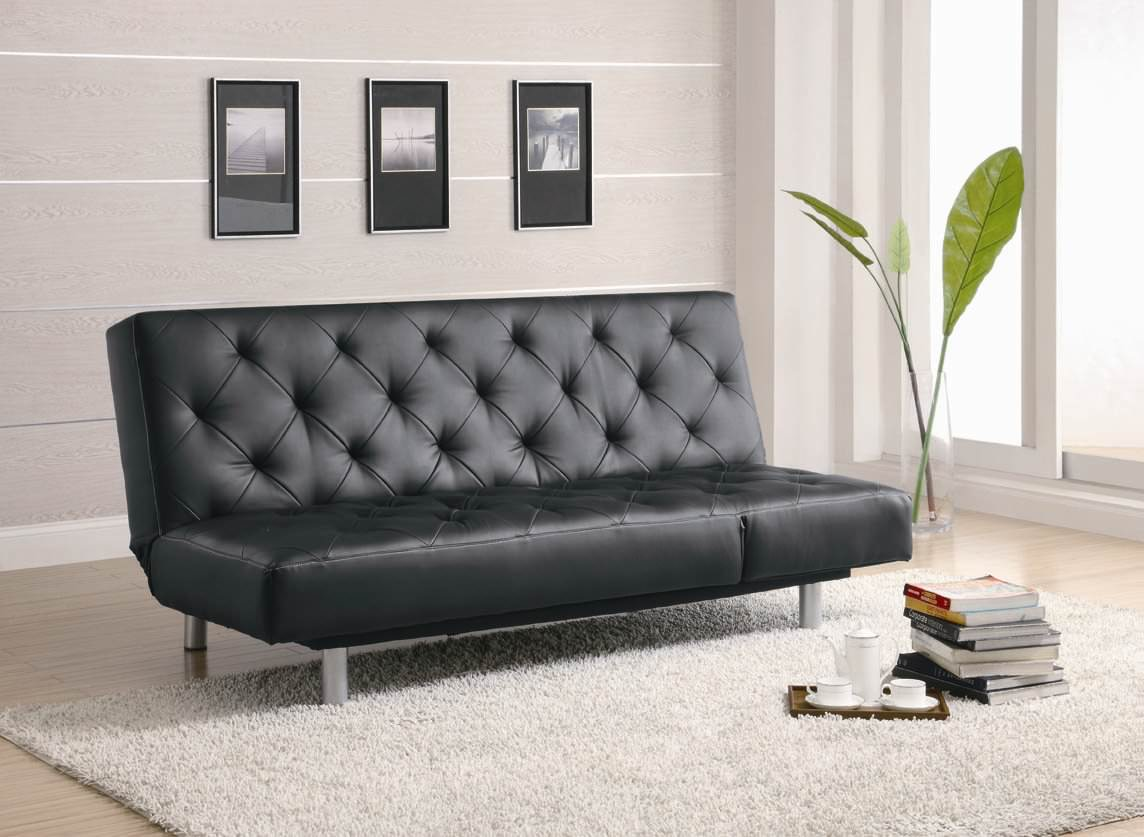 300304 Sofa Bed In Black By Coaster