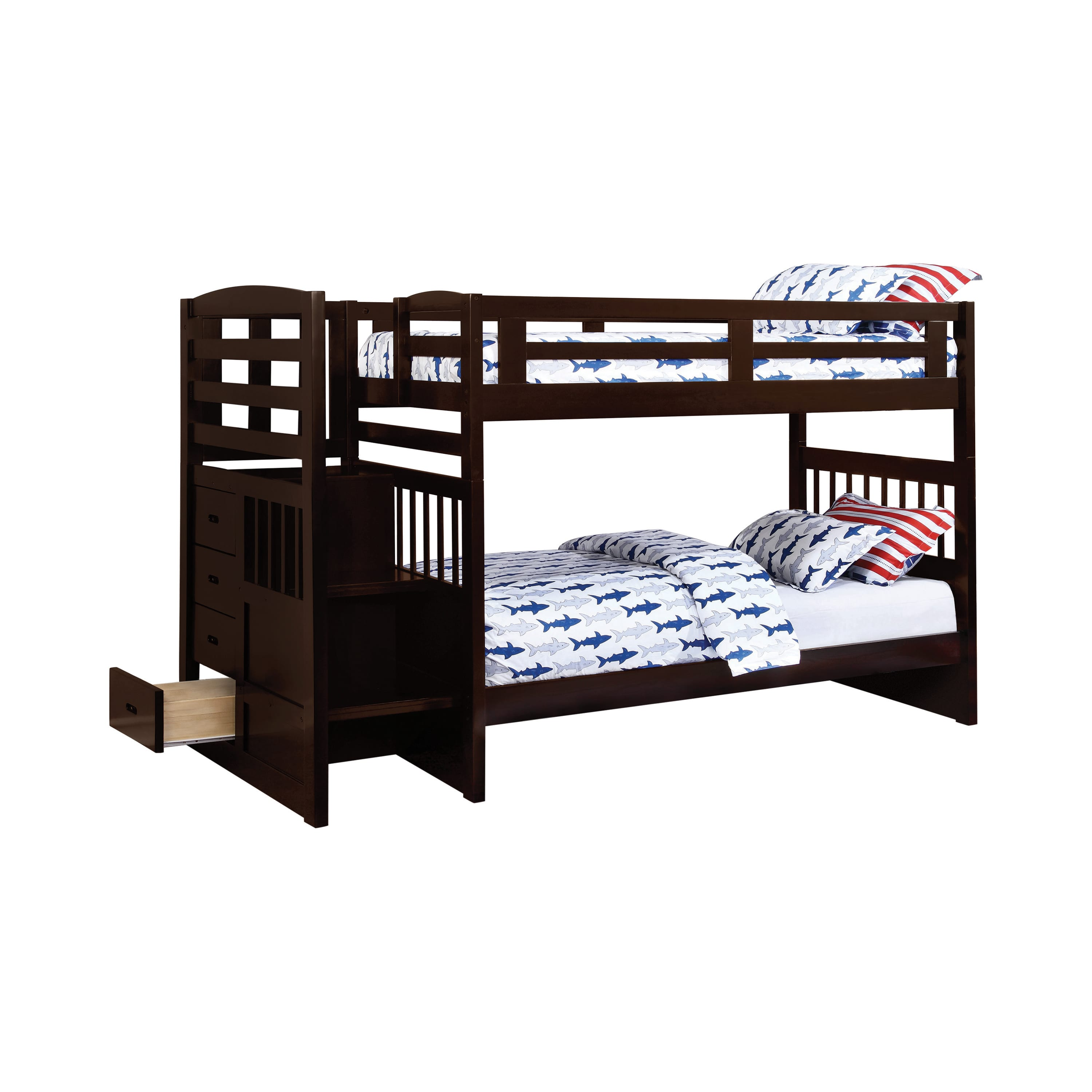 Twin Over Bunk Bed By Coaster
