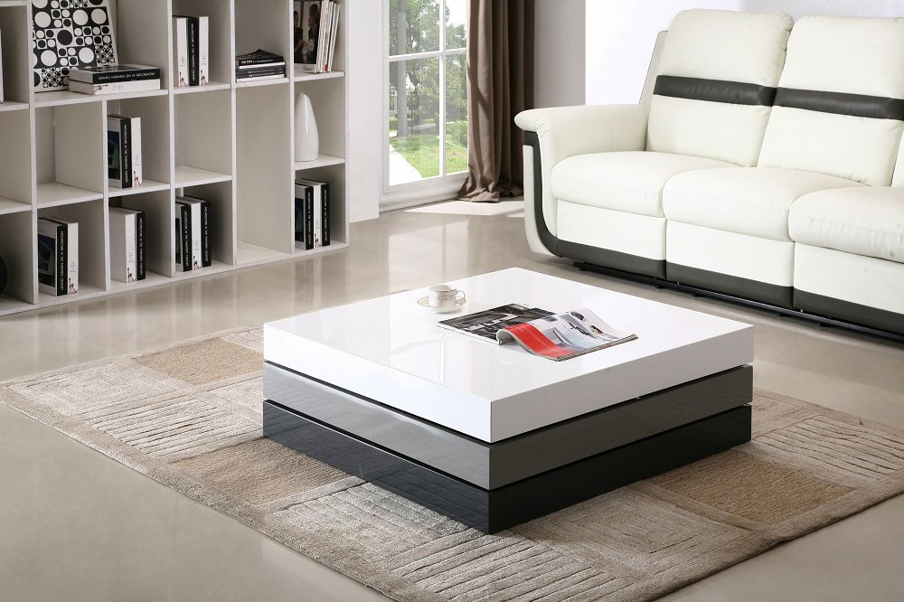 Modern Rotary Coffee Table CW01 by J&M Furniture