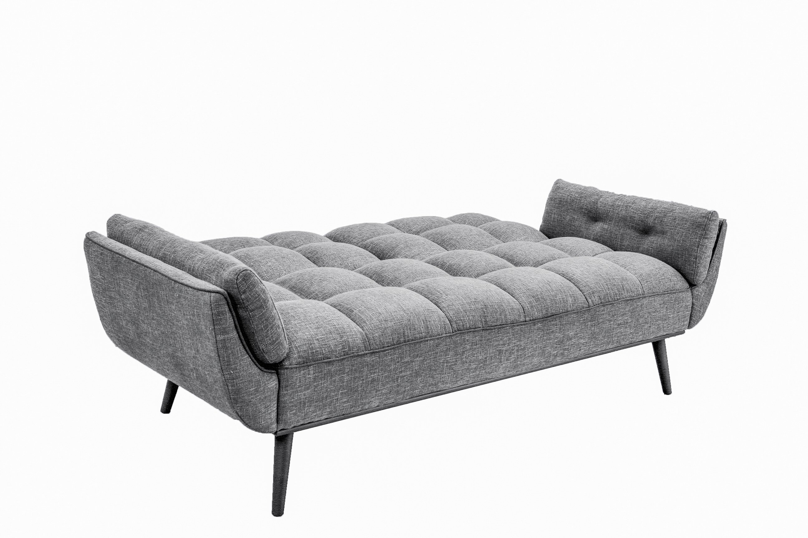 Candice Convertible Sofa Dark Gray By Serta Lifestyle