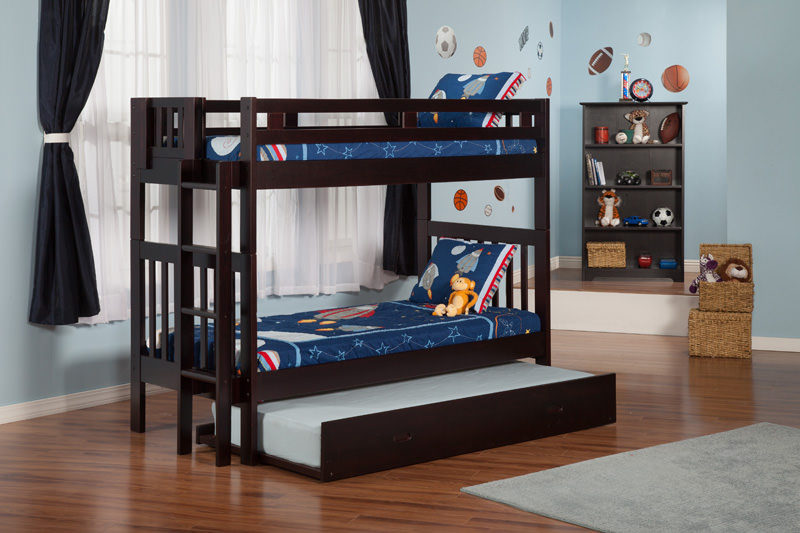 Cascade Brushed Grey Bunk Bed By Atlantic Furniture