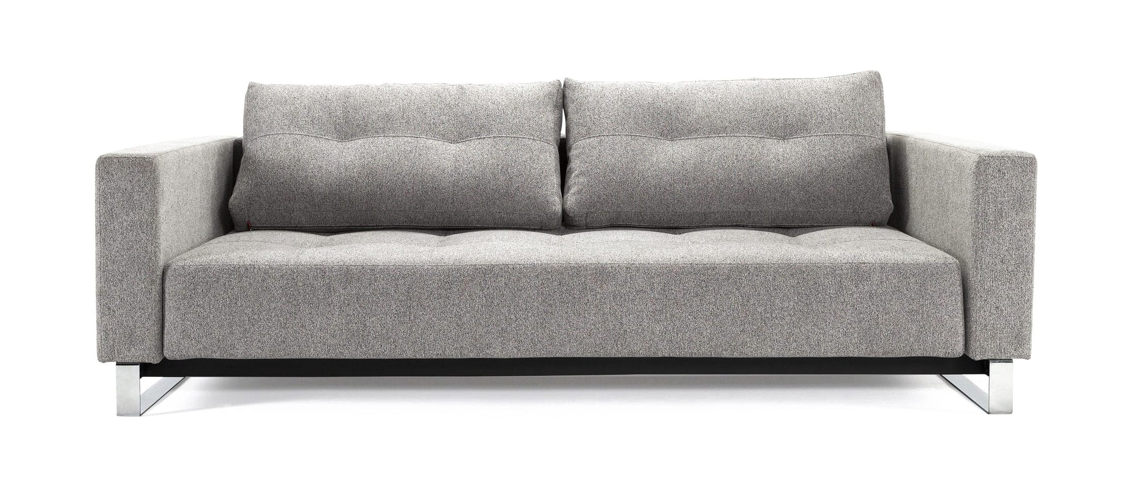 Picture of: Cassius Deluxe Excess Sofa Bed Queen Size Melange Light Gray By Innovation